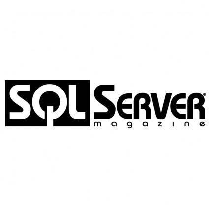 free vector Sql server magazine