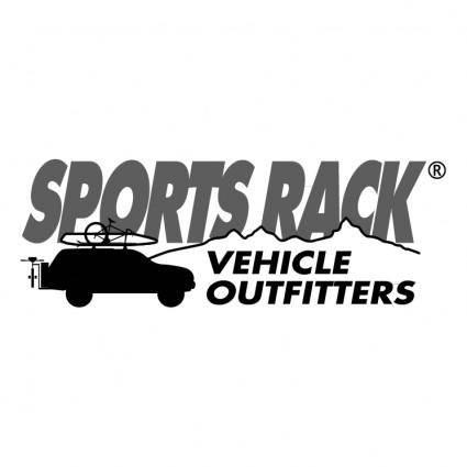 free vector Sports rack
