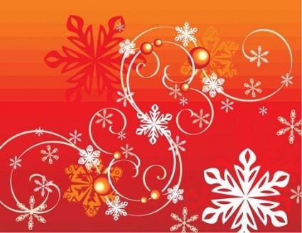 free vector Winter Snowflake Vector