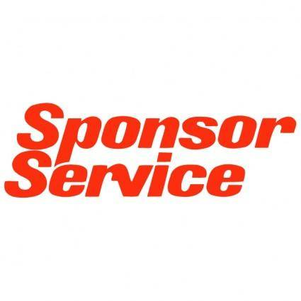 free vector Sponsor service