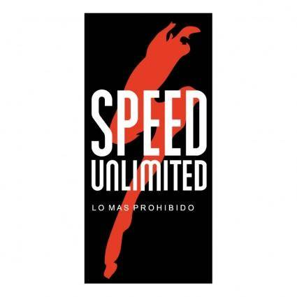 free vector Speed unlimited
