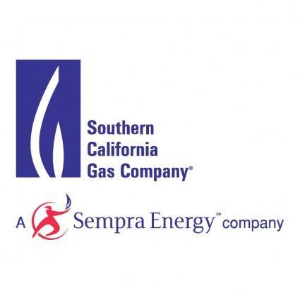 free vector Southern california gas company