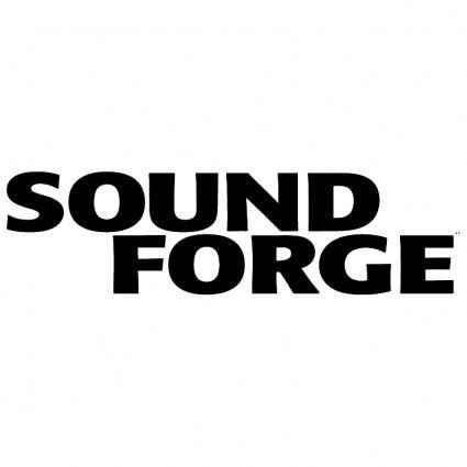 free vector Sound forge