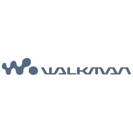 free vector Sony walkman