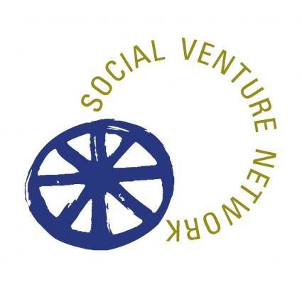 free vector Social venture network