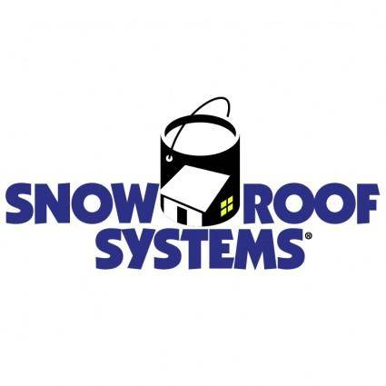 free vector Snow roof systems