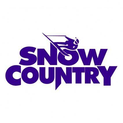 free vector Snow country
