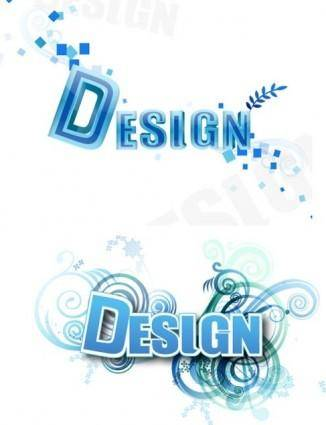 free vector 3D Letter Design Vector
