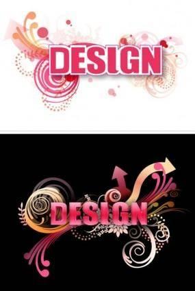 free vector 3D Letter Design Vector 2
