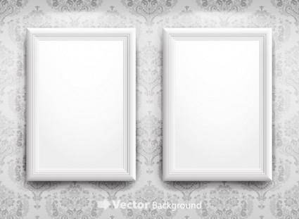 Blank frame vector 4