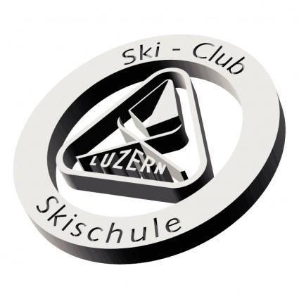 free vector Skiclub skischule luzern