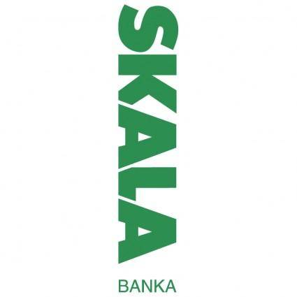 free vector Skala banka