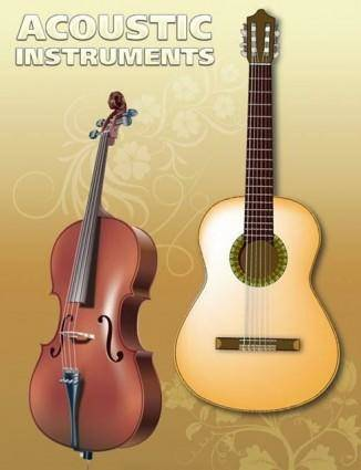 free vector Vector Guitar and Violin