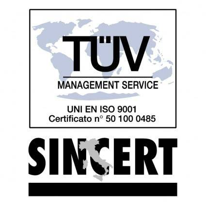 free vector Sincert tuv