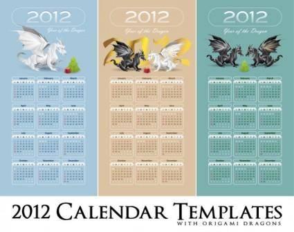free vector In pterosaurs calendar 2012 01 vector