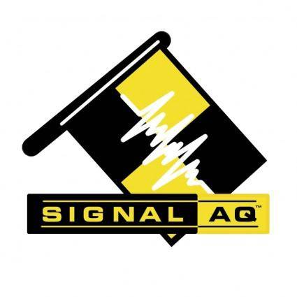 free vector Signal aq