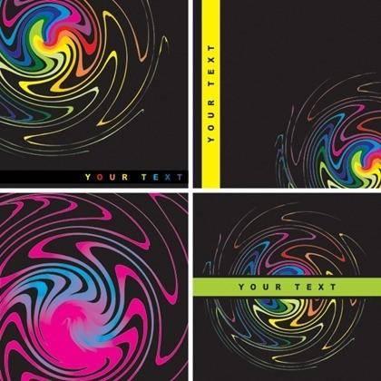 Colorful Watermark vector