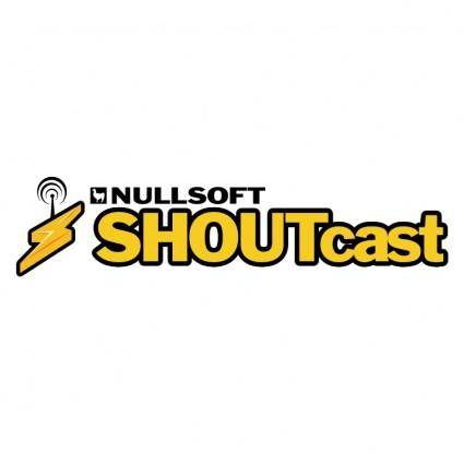 free vector Shoutcast