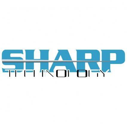 free vector Sharp technology