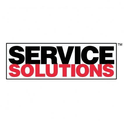 free vector Service solutions