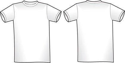 2 Free Blank Shirt Templates