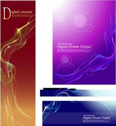free vector Colorful Dream Smoke vector elements