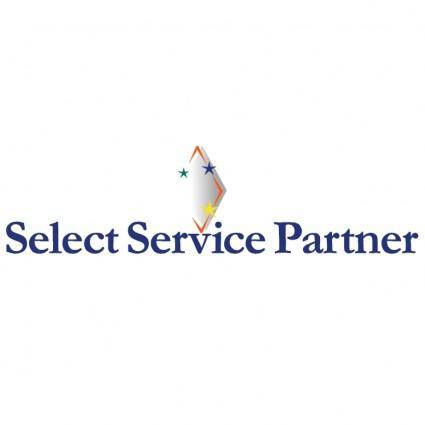 free vector Select service partner