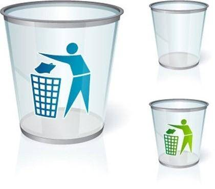 free vector Recycling Trash vector graphic