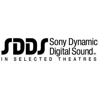 free vector Sdds sony dynamic digital sound