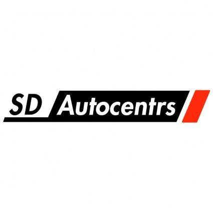 free vector Sd autocentrs