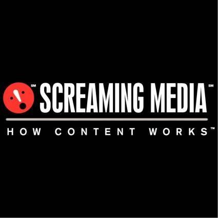 free vector Screaming media