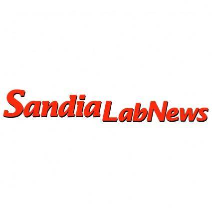 free vector Sandia labnews
