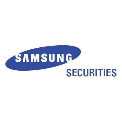 free vector Samsung securities