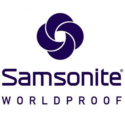 free vector Samsonite worldproof