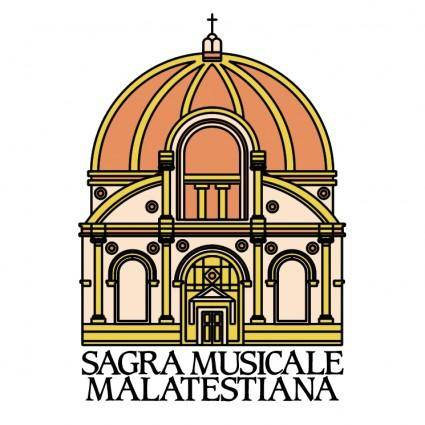 free vector Sagra musicale malatestiana