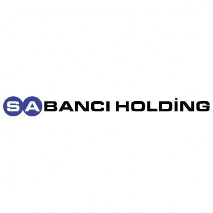 free vector Sabanci holding