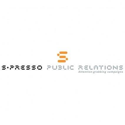S presso public relations