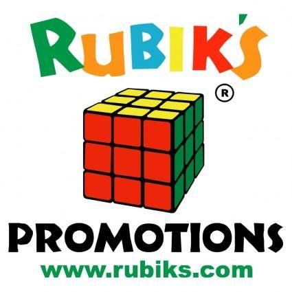 Rubiks promotions