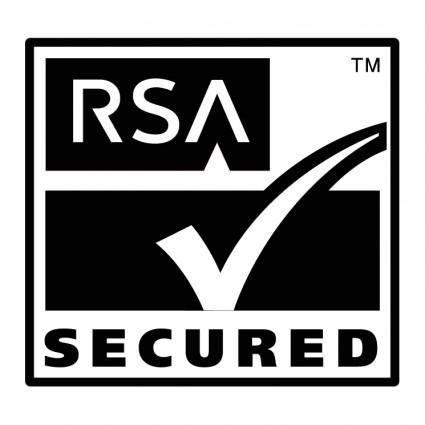 Rsa secured 0
