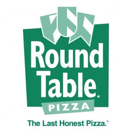 free vector Round table pizza