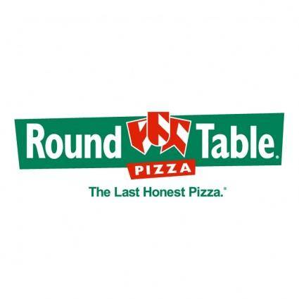 free vector Round table pizza 2