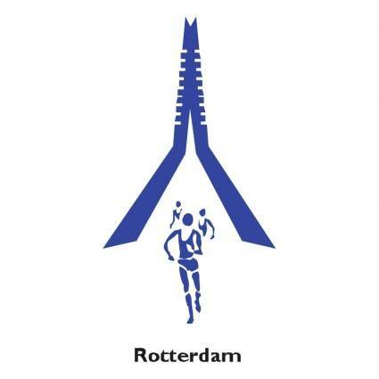 free vector Rotterdam marathon