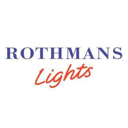 Rothmans lights