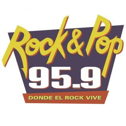 free vector Rock and pop radio