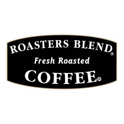 free vector Roasters blend coffee