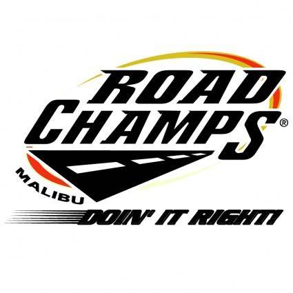free vector Road champs