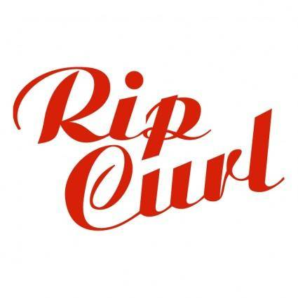 free vector Rip curl