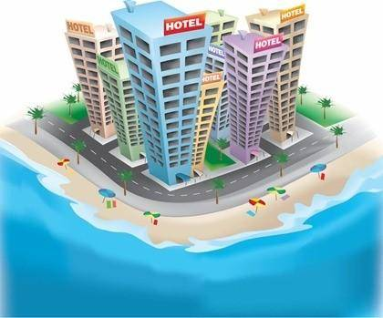 Free Vector Graphic  3D Hotel