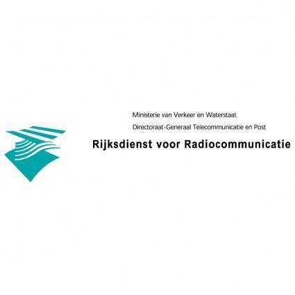 free vector Rijksdienst voor radiocommunicatie
