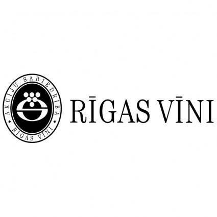 free vector Rigas vini 0